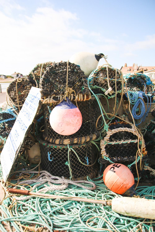 Fishing at Mudeford Beach