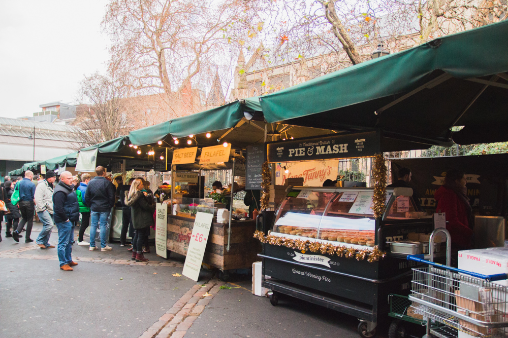 Borough Market Street Food, London
