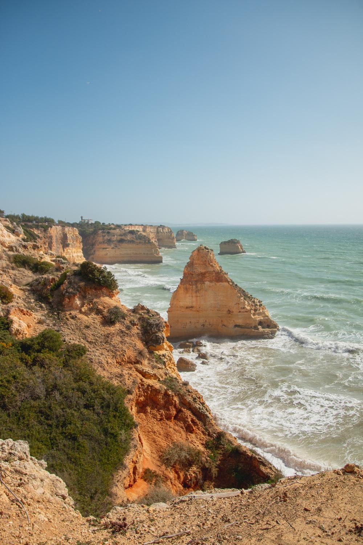 Praia da Marinha, The Algarve, Portugal