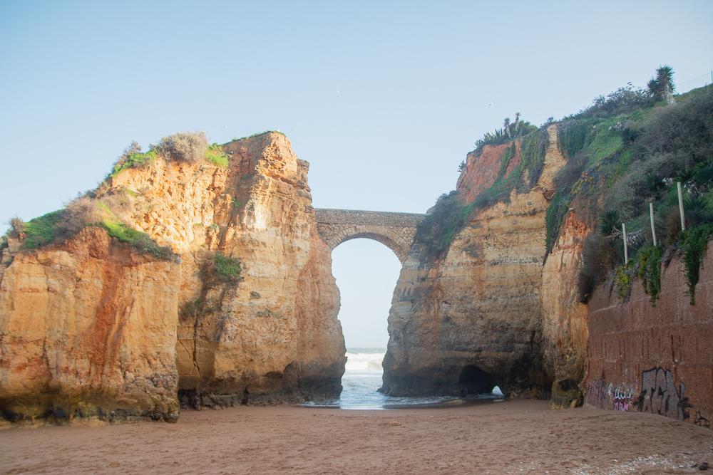 Lagos Beach in The Algarve, Portugal
