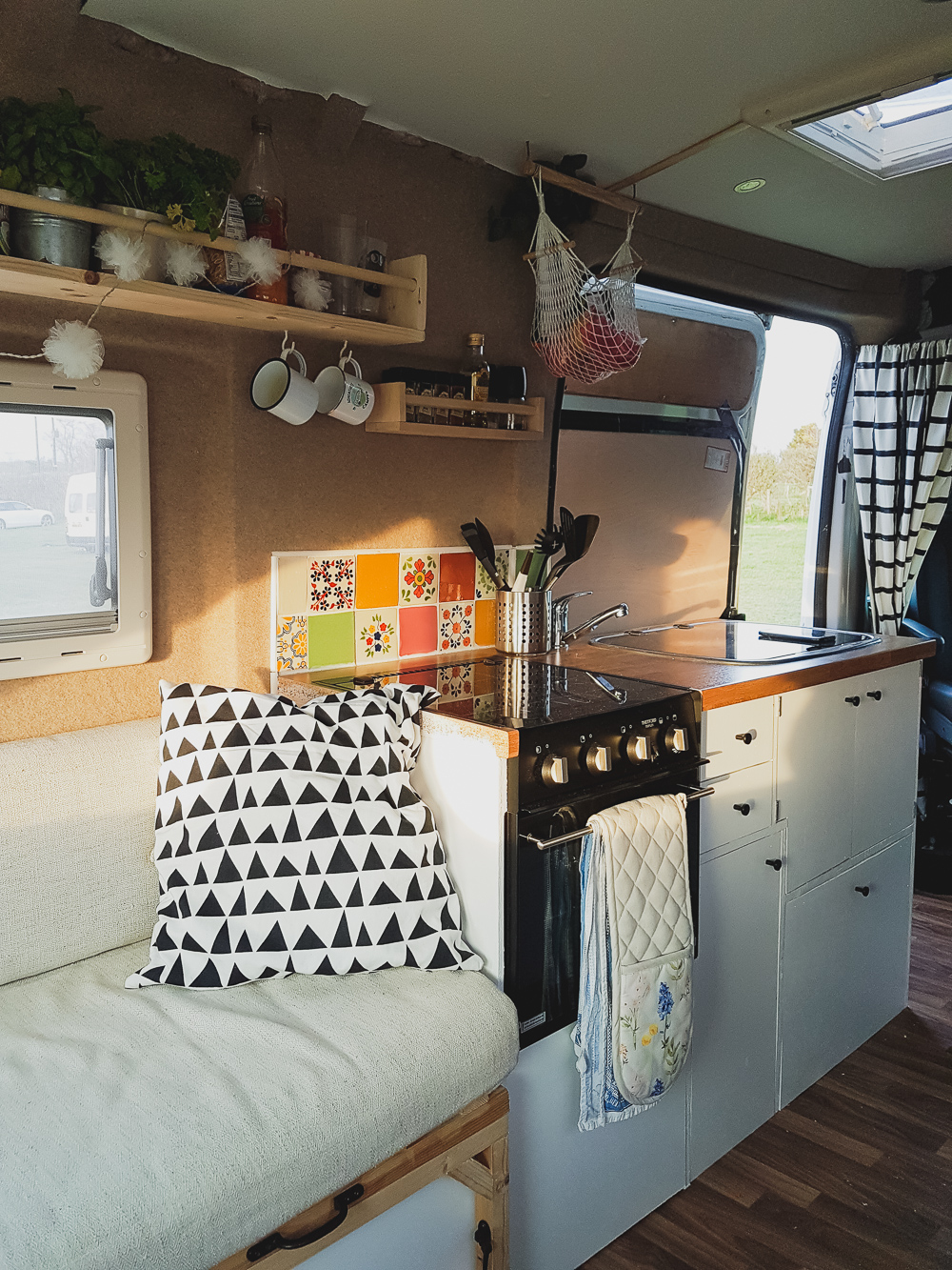 Adventures in a Camper, Campervan