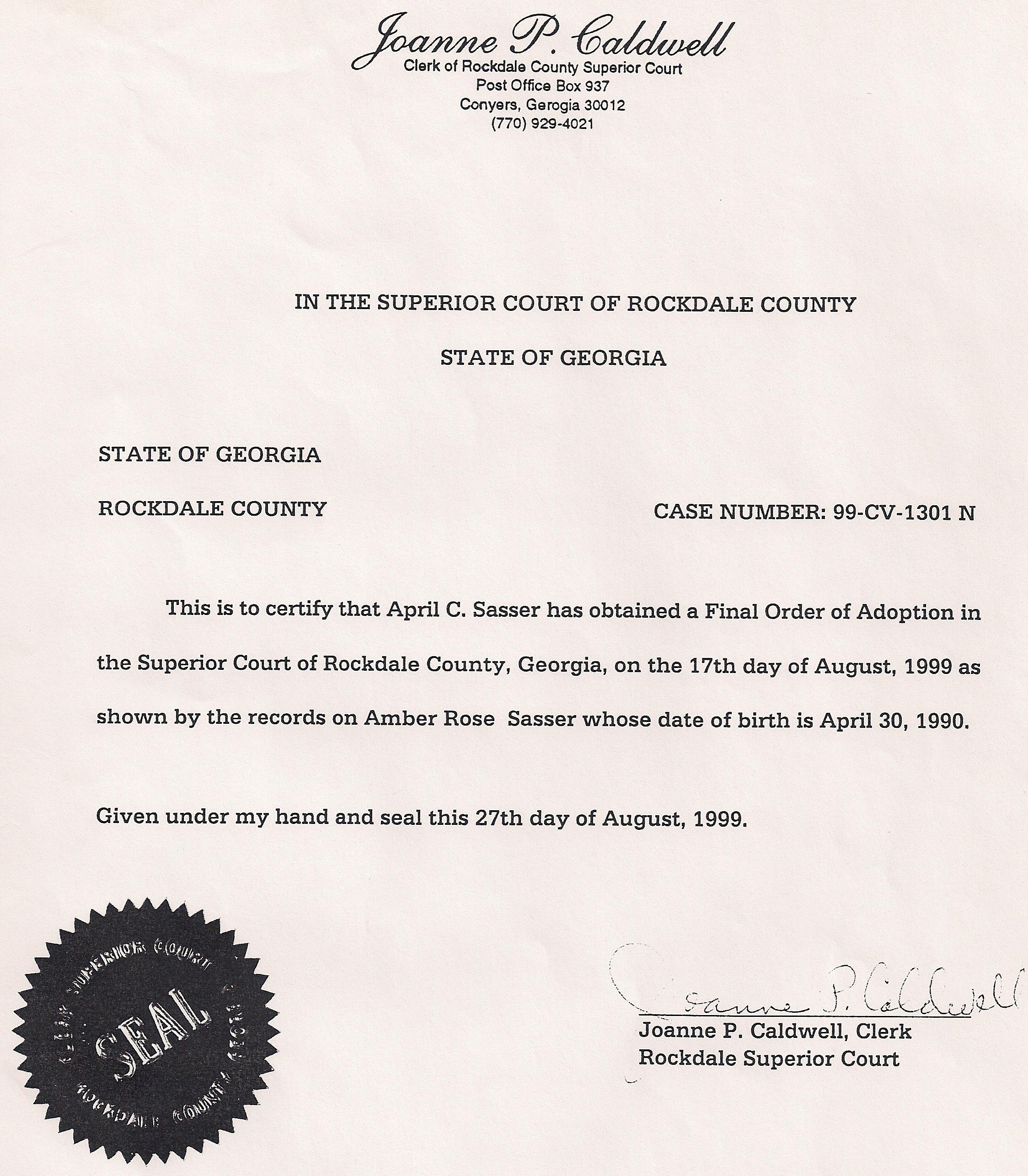 Judicial Documentation