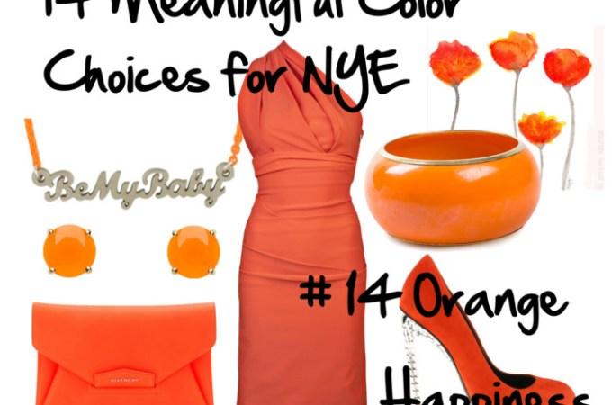 Wear Orange for Happiness