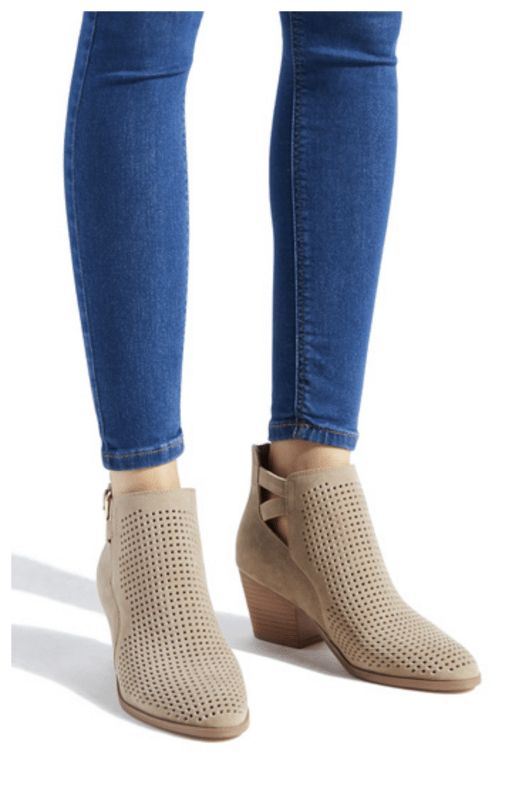 Neutral Booties for Fall Transition