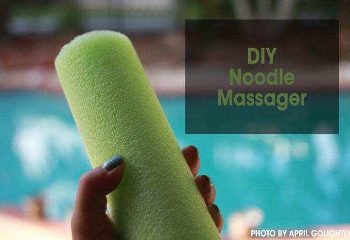 DIY Noodle Massager