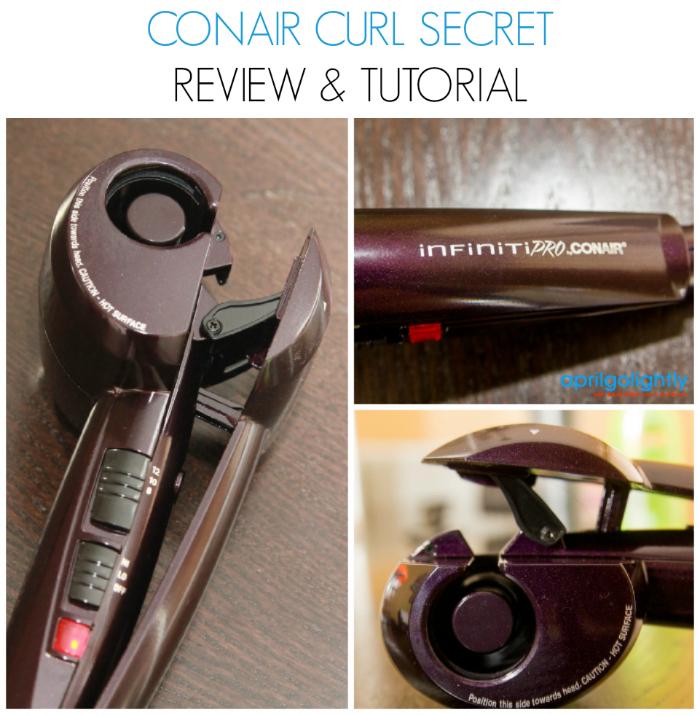 Conair Curl Secret Review and Tutorial #shop