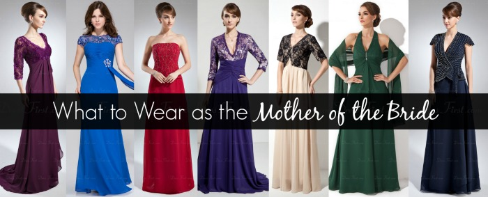 What to Wear as the Mother of the Bride