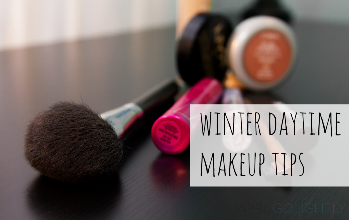 Winter Daytime Makeup Tips