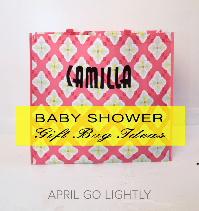 Baby Shower Gift Idea – Sharpie DIY Reusable Shopping Bag