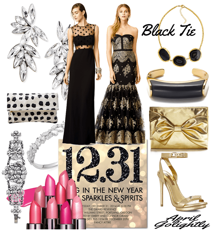 Black Tie New Year's Eve Gowns from Rent the Runway