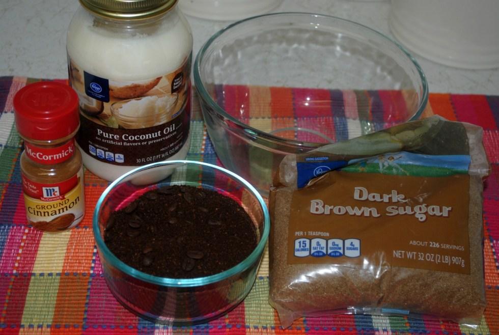 Coffee Body Scrub Tutorial