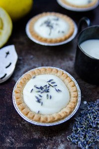 Lavender Lemon Tartlet Recipe