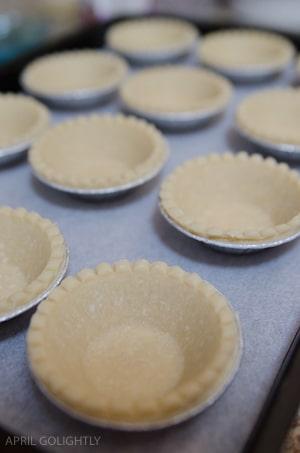 Lemon Tartlet Shells