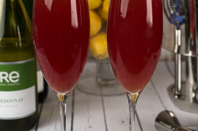 Pomegranate Mocktail Spritzer
