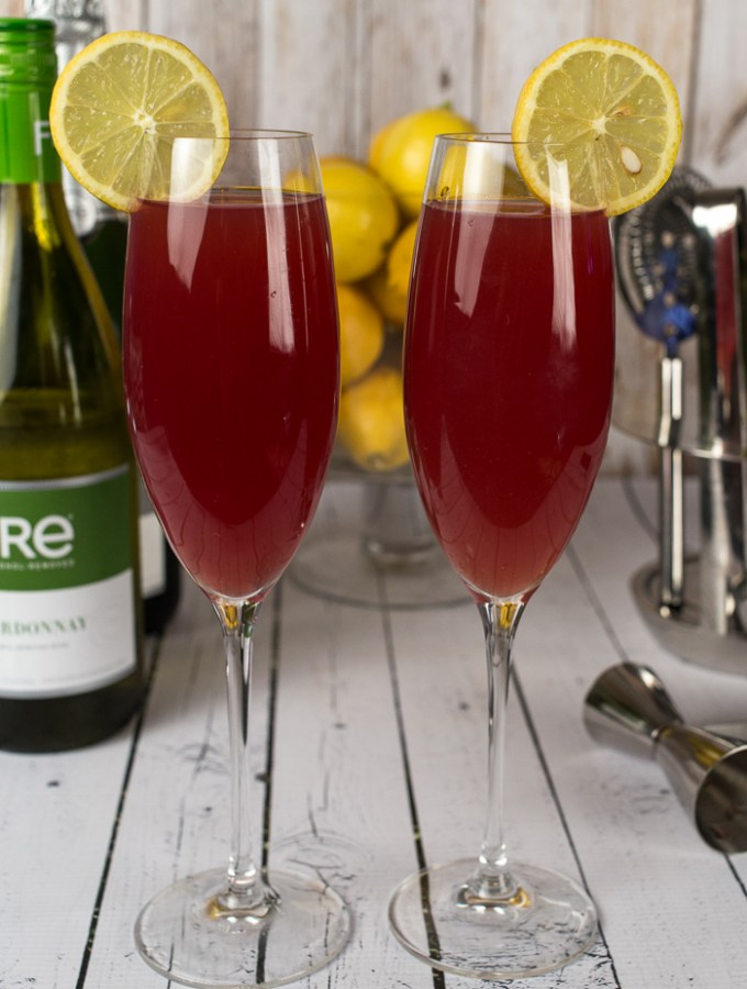 Pomegranate Mocktail Spritzer