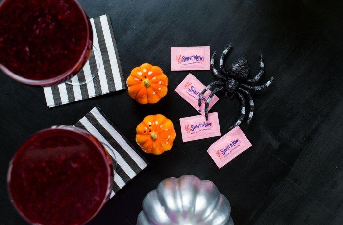 Low Calorie Halloween Cocktail
