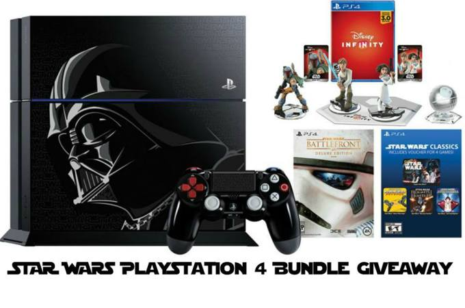 The Limited Edition Star Wars PS4 Giveaway – SECOND CHANCE!