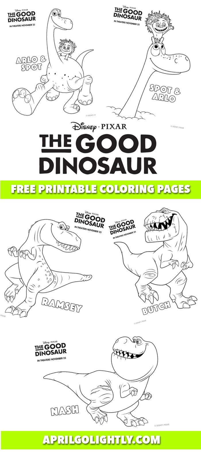 The-Good-Dinosaur-Free-Printables