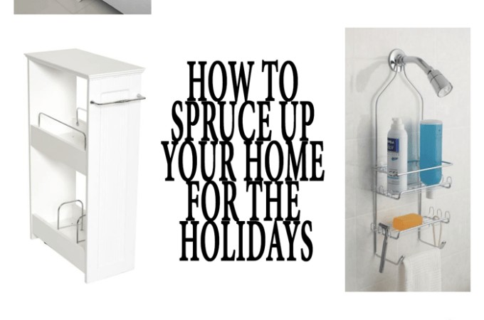 How to Spruce Up your Home for the Holidays + Giveaway