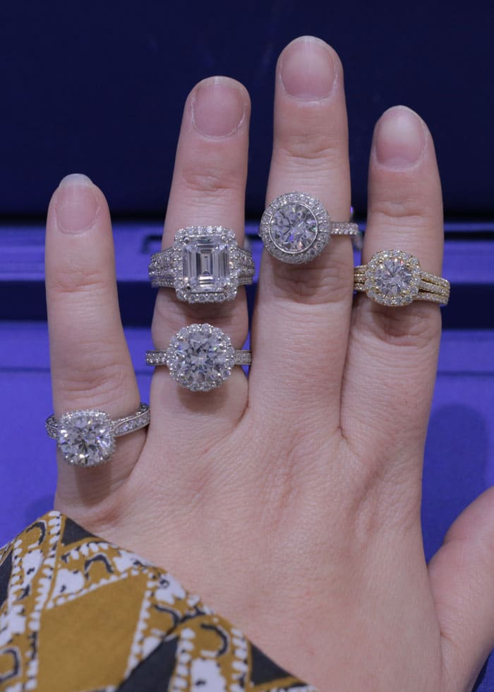 celebrity engagement rings april golightly