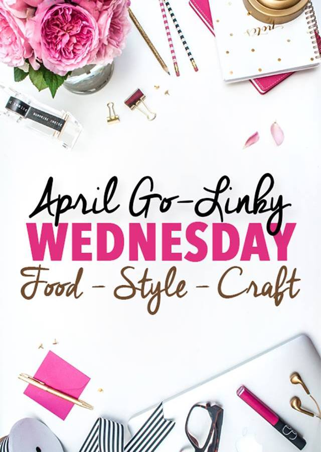 Come join the fun with our April Go-Linky Party every Wednesday!