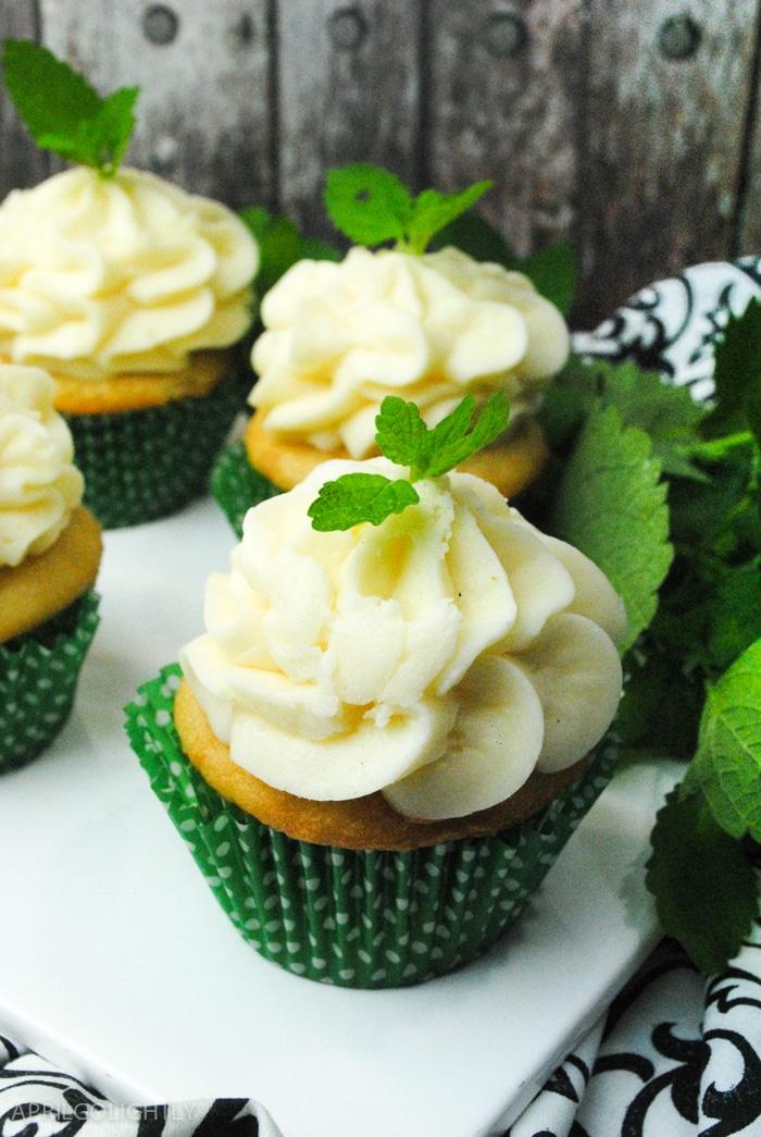 Mint Julep Cupcake Recipe
