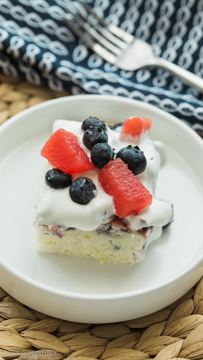 Bluberry Watermelon Poke Cake-4-2