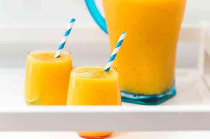 Summer Wine Block Party with Mango Lime Wine Slush Recipe