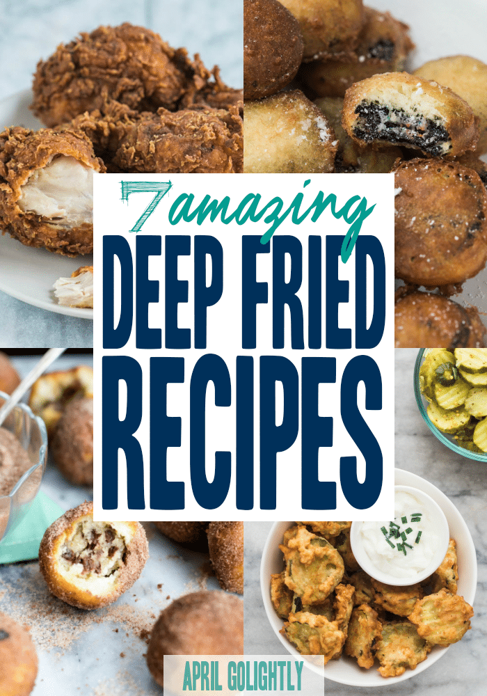 7 deep fryer recipes that you can make at home