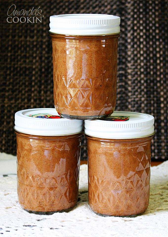 Apple Butter Recipe made with the crockpot or slow cooker