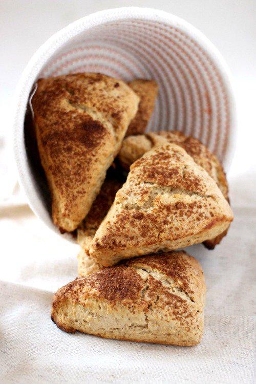 25 Apple Recipes - Apple Cinnamon Scones