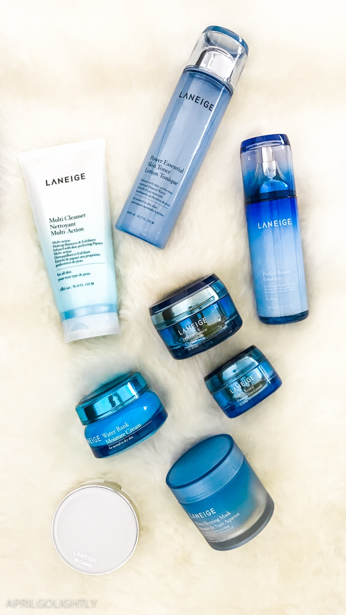 K Beauty Routine with Laneige from Target – Cleanse, Clarify, Balance, Treat, Moisturize, and Revive to recharge dehydrated skin overnight