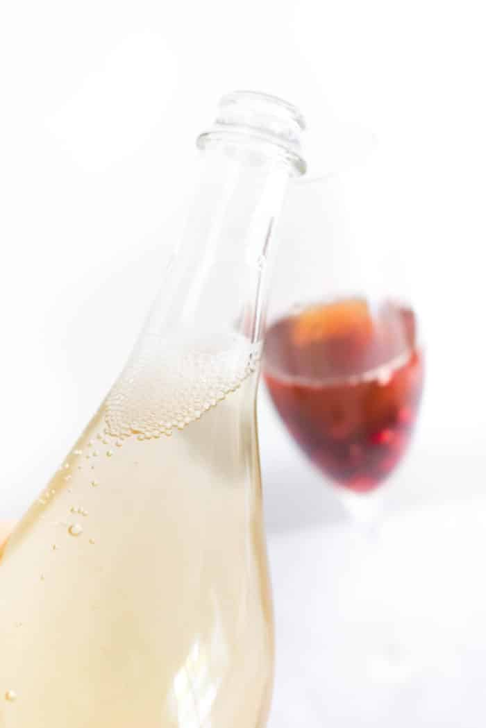 Pomegranate Iced Tea Sparkling Wine Spritzer Cocktail Recipes