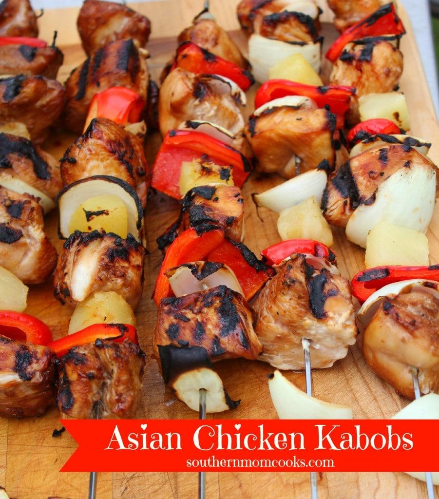 Asian Chicken Kabobs Recipe