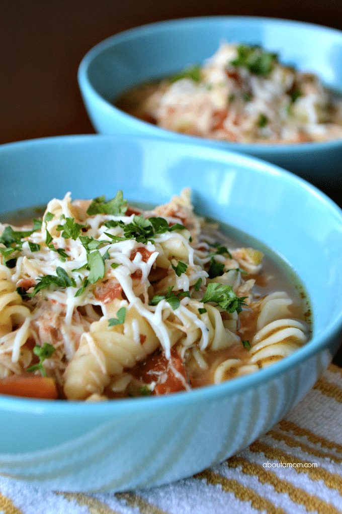 Easy Chicken Parm Soup Recipe
