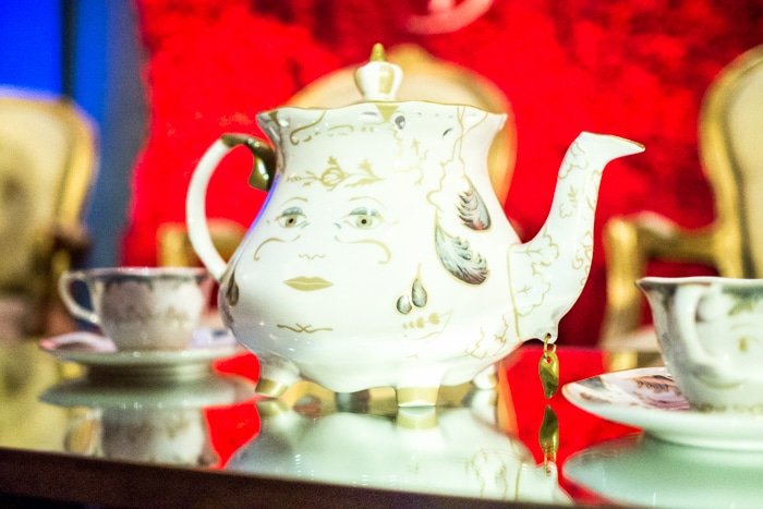 Beauty and the Beast Gift Ideas - fancy tea set