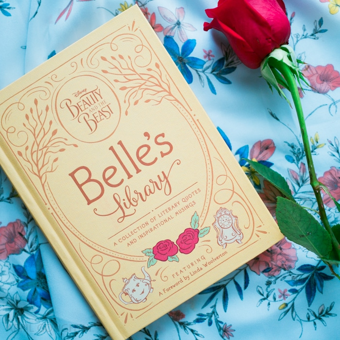 Beauty and the Beast Gift Guide with amazing books from Belle's Library
