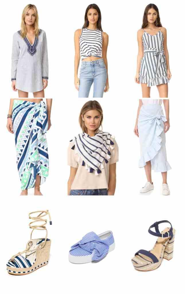 Blue Stripes & Surprise Shopbop Sale