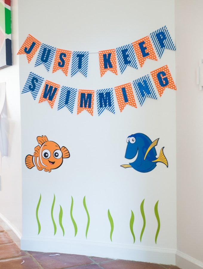 Dory Birthday Party Ideas and Plan