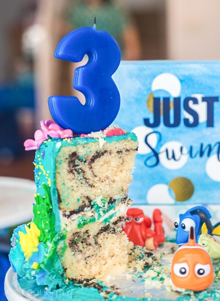 Finding Dory and Nemo Birthday Cake (1 of 1)-2