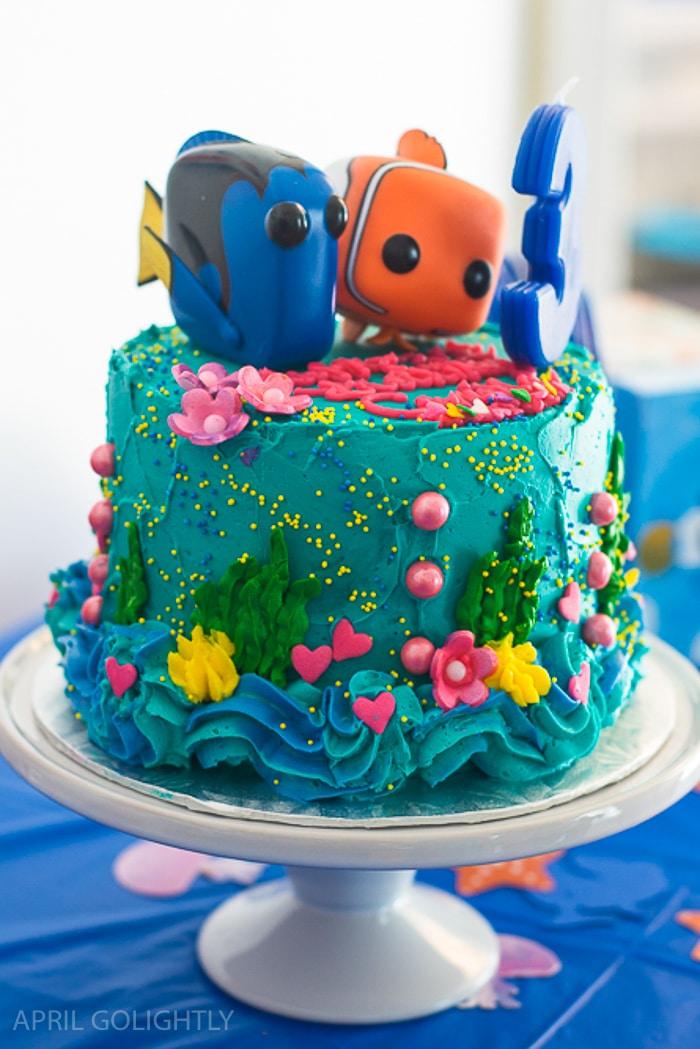 Finding Dory and Nemo Birthday Cake (1 of 1)