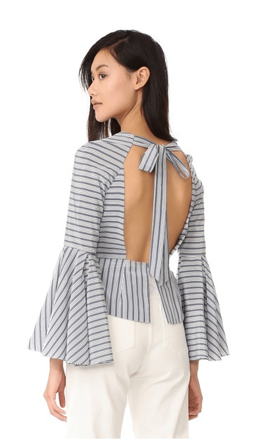 Tie Back Top Trend