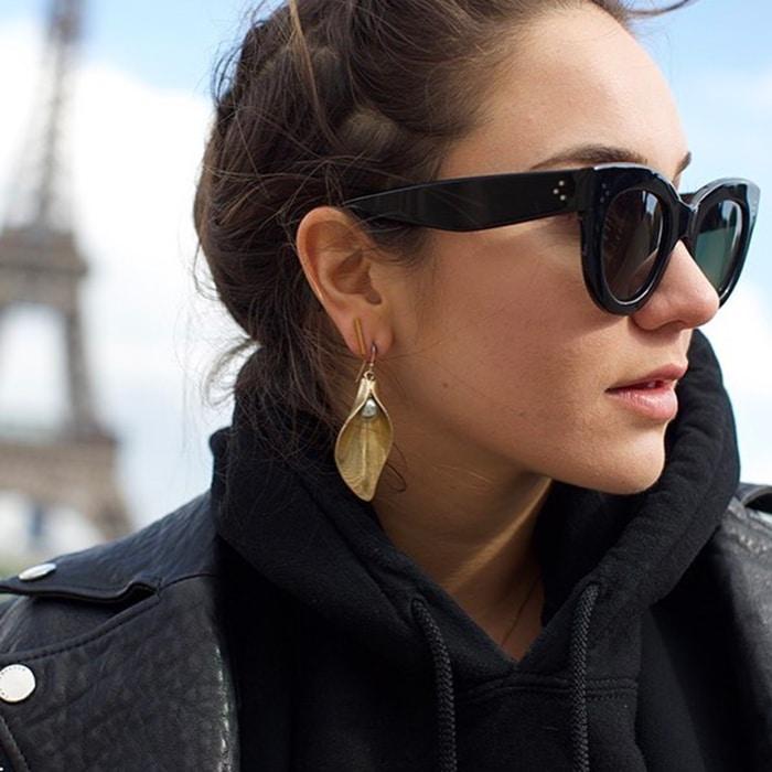 All One Color Lulu Frost Statement Earrings
