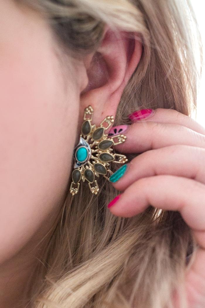 Lulu Frost Statement Earrings
