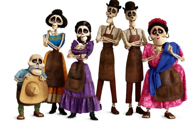 11 Fun Facts About Bringing the Skeleton's to Life for Pixar's COCO