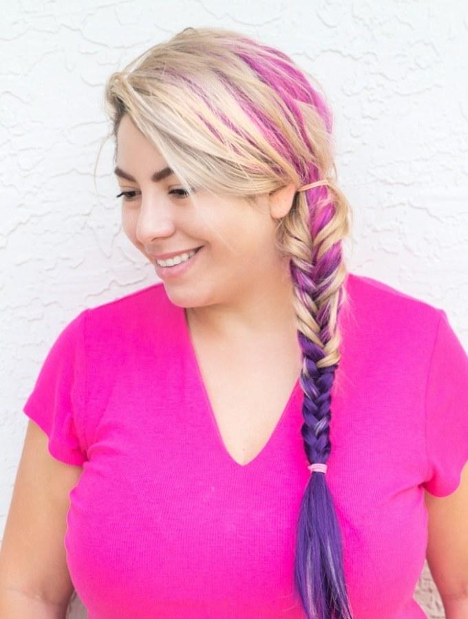 Twilight Sparkle Inspired Hair Tutorial