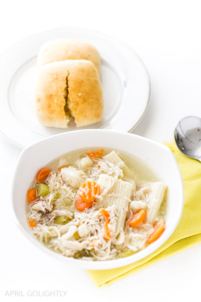 Instant Pot Pressure Cooker Whole Chicken Soup
