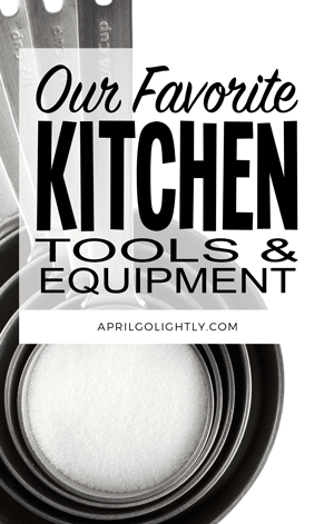 Kitchen Tool and Equipment