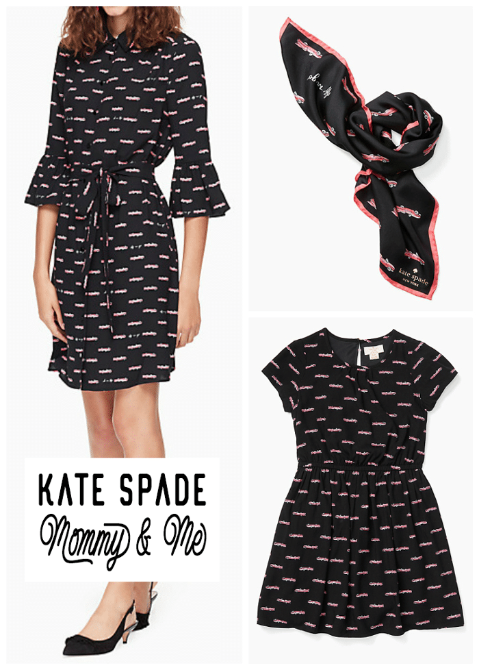 Kate Spade Mommy and Daughter Matching Outfits