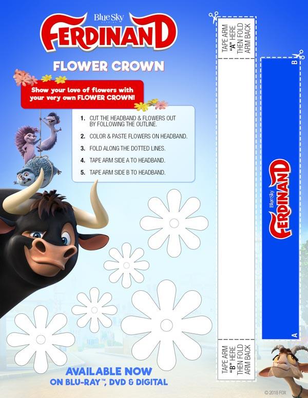 Ferdinand Flower Crown